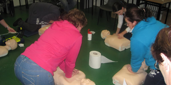 Cardiac First Responder Community First Aid Training Cork